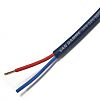 Van Damme 100m Blue 2 Core Speaker Cable,