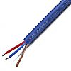 Van Damme 100m Screened Blue Microphone Cable, 250