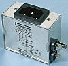 Male IEC Filter Panel Mount,faston,Rated At 20A,250 V