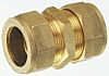 Pegler Yorkshire 22mm Straight Coupler Brass Compression Fitting