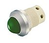 Signal Construct Green Indicator, Screw Termination, 130 V