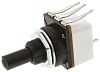 TE Connectivity 1 Gang Rotary Carbon Potentiometer with