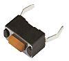 Pink Tactile Switch, Single Pole Single Throw (SPST) 50 mA @ 12 V dc