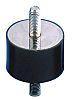 Paulstra 521308 Shock Mount M8 90daN Compression Load