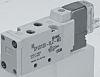 SMC 5/2 Pneumatic Control Valve Pilot/Pilot Metric M5