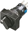 Idec, 2 Position DPDT Rotary Switch, 1 A,