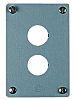 Eaton Brushed Aluminium M22 Push Button Enclosure -