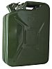 RS PRO Metal Jerry Can, 20L