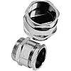 Lapp Skintop M63 Cable Gland With Locknut, Nickel