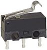 SPDT-NO/NC Simulated Roller Lever Microswitch, 100 mA @