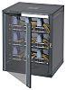 Gabinete de servidor 15U APW, serie Imrak 410, de Vidrio, Acero Gris, para montaje en pared, 724 x 600 x 400mm