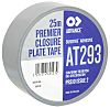 Advance Tapes AT293 Gloss Silver Cloth Tape, 50mm