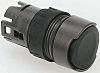 Schneider Electric Flush Black Push Button Head -