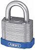 Abus 53mm Steel Key Weather Resistant Steel Padlock
