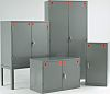 RS PRO Grey Steel Lockable 2 Doors COSHH