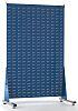 RS PRO PP Louvre Panel Storage Unit, 1500mm x 1000mm, Blue