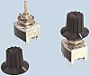 NKK Switches, 3 Position SP3T Rotary Switch, 0.1