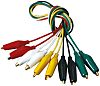 Black, Green, Red, White, Yellow, 56cm Lead Length