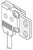 Panasonic Mounting Bracket, For Use With EX-10 Series