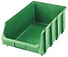 Terry Green Polypropelene, Polystyrene Stackable Storage Bin,