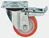 LAG Braked Swivel Swivel Castor, 600kg Load Capacity,