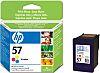 Hewlett Packard 57 Multi Colour Ink Cartridge