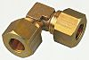 Legris 8mm 90° Equal Elbow Brass Compression Fitting