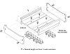 Entrelec PCB Carrier for DIN Rail Terminal