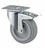 Tente Swivel Castor, 400kg Load Capacity, 200mm Wheel