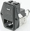 Male IEC/EN 60939 IEC Filter Panel Mount 5