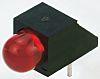 Kingbright L-1503CB/1SRD, Red Right Angle PCB LED Indicator,
