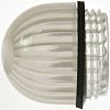 Panel Mount Indicator Lens Domed Style, White, 15.86mm diameter , 15.86mm Long
