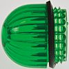 Panel Mount Indicator Lens Domed Style, Green, 11/16in