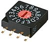 16 Way PCB DIP Switch, Rotary Flush Actuator