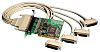 Brainboxes 4 Port PCI RS232 Board