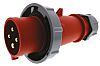 MENNEKES, AM-TOP IP67 Red Cable Mount 3P+E Mains