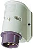 MENNEKES IP44 Purple Wall Mount 3P Right Angle