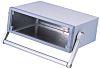 METCASE Unimet Grey Aluminium Instrument Case, 260 x 350 x 120mm