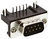 TE Connectivity AMPLIMITE HD-20 Series, 9 Way Right