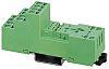 Phoenix Contact Relay Socket, DIN Rail, 300V ac/dc