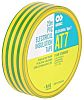 Advance Tapes AT7 Green, Yellow PVC Electrical Tape,