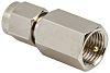 Straight 50Ω RF Adapter FME Plug to SMA