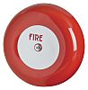 Red Centrifugal School Bell, Single Tone, 93dB at