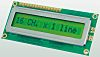 Displaytech 161A-BA-BC Alphanumeric LCD Display, Yellow on Green,
