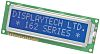 Displaytech 202B-CC-BC-3LP Alphanumeric LCD Display, Black on