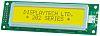 Displaytech 202A-BC-BC Alphanumeric LCD Display, Yellow on Green,