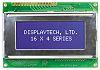 Displaytech 164A-BC-BC Alphanumeric LCD Display, Yellow on Green,