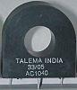 Proudový transformátor, řada: AC-1 -40°C až +120°C Nuvotem Talema 50A 50:1