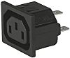 Schurter C13 Snap-In IEC Connector Socket, 15.0A, 250.0