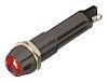Dialight Red Indicator, Solder Tab Termination, 24 V